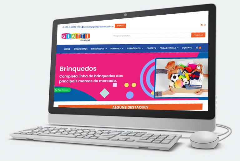 criação loja virtual ecommerce atende todo Brasil Planicom Marketing Web